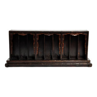Late 19th Century Chinese Shrine Display Stand For Sale