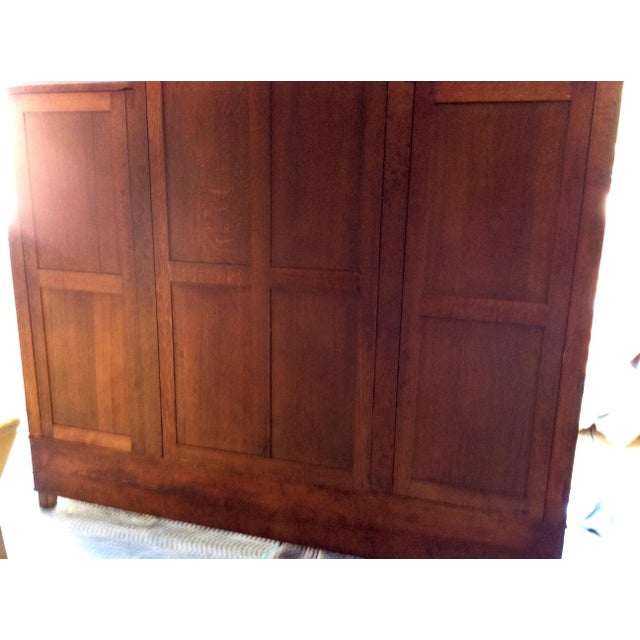 Antique Louis VX Triple Armoire - Image 10 of 10