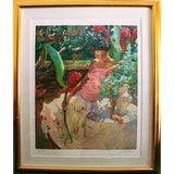 """Image of """"Hawaiian Ginger"""" John Asaro Hand-Signed and Numbered Limited Edition Serigraph For Sale"""