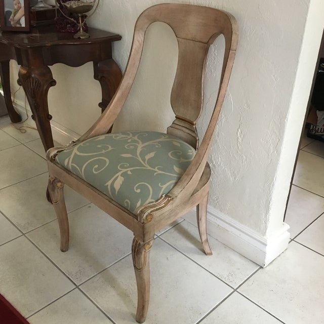 Roman Style Library Chairs - A Pair For Sale - Image 4 of 11