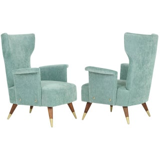 Italian Wingchair For Sale