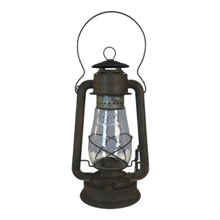 Rustic Dietz Railroad Lantern For Sale