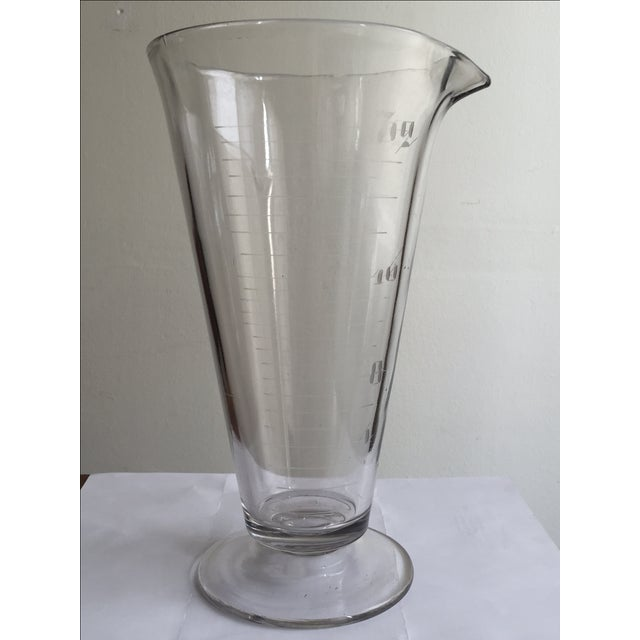 Vintage Lab Glass Vase - Image 4 of 6