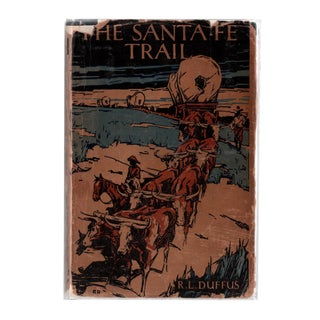 """1931 """"The Santa Fe Trail"""" Collectible Book For Sale"""
