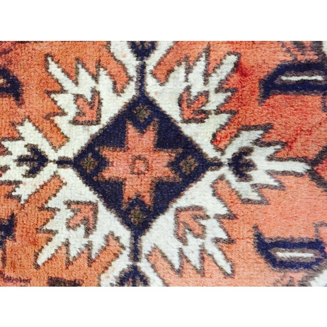 "Turkaman Persian Handmade Rug - 2'6"" X 4'8"" - Image 6 of 9"