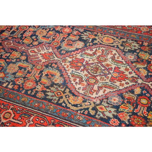 """Textile Vintage Bibikabad Rug Runner - 3'4"""" x 16'4"""" For Sale - Image 7 of 10"""