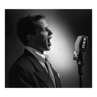 Frank Sinatra Circa 1945 For Sale