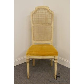 Late 20th Century Vintage Stanley Furniture French Provincial Cane Back Dining Chair Preview