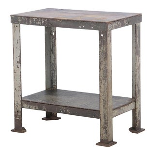 Early 20th Century American Industrial Table For Sale