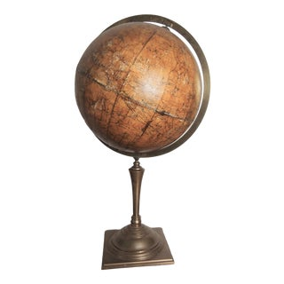 Celestial Globe With Brass Meridian For Sale