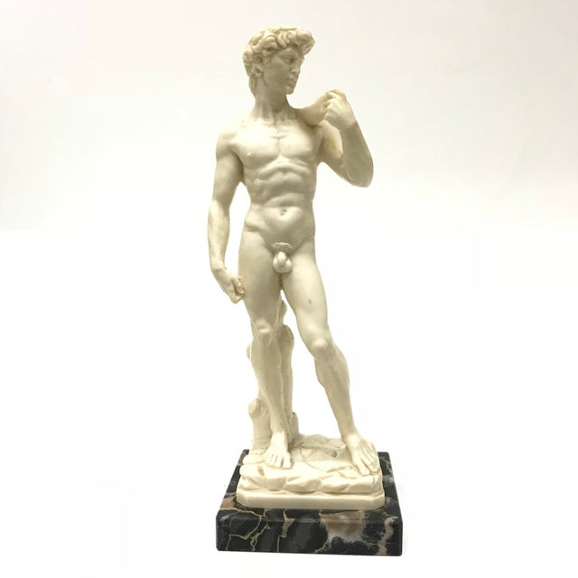 A. Santini Michelangelo's David Figure For Sale In San Francisco - Image 6 of 6