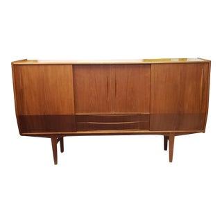 1960's Danish Mid-Century Modern Teak Sideboard For Sale