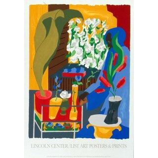 Jacob Lawrence-Floral Supermarket-1996 Serigraph For Sale