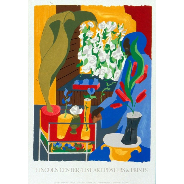 Jacob Lawrence-Floral Supermarket-1996 Serigraph For Sale