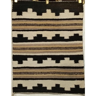 "Vintage Navajo Handmade Tribal Rug - 1'9"" X 2'3"" Preview"