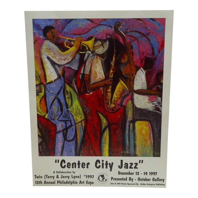 1997 Center City Jazz Poster - Image 1 of 6