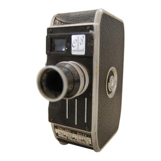 Vintage Bolex Paillard C8 8mm Swiss Movie Camera For Sale