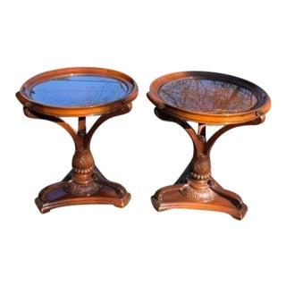 1930s Art Deco Tables - A Pair For Sale