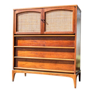 Lane Mid-Century Tall Dresser Chest For Sale