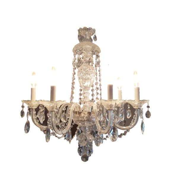 Schonbek Silver Heritage Crystal Chandelier - Image 1 of 6