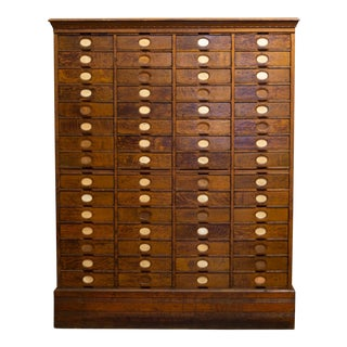 19th C. Amberg's Cabinet Letter File C.1890s For Sale