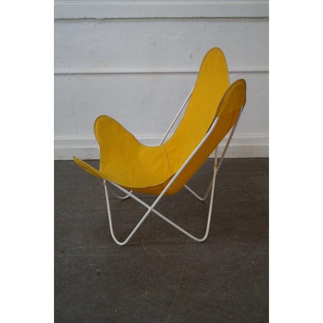 Knoll Hardoy Mid-Century Modern Iron Frame Butterfly Chair | Chairish