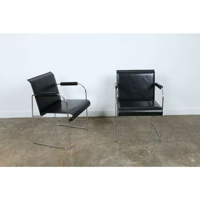 Arrben Italy Arm Chairs - Set of 4 - Image 10 of 11