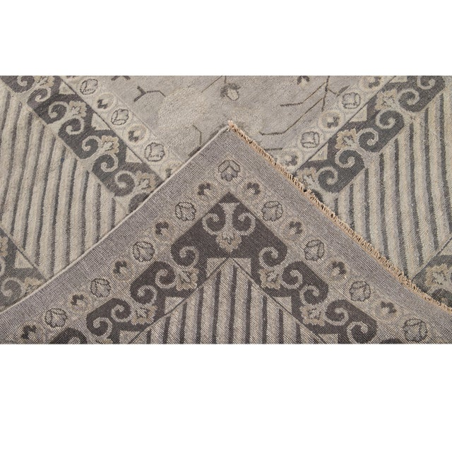 Contemporary 21st Century Modern Kohtan Wool Rug For Sale - Image 3 of 13