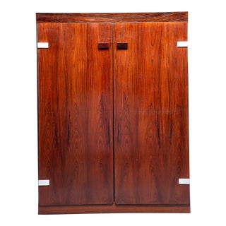 Sibast Mobler Danish Rosewood Two-Door Cabinet For Sale