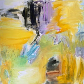 """""""High Noon"""" by Trixie Pitts Large Abstract Expressionist Oil Painting For Sale"""