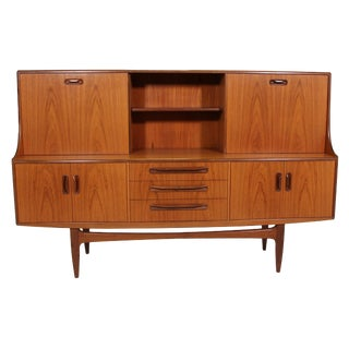 G Plan Teak High Board Credenza For Sale