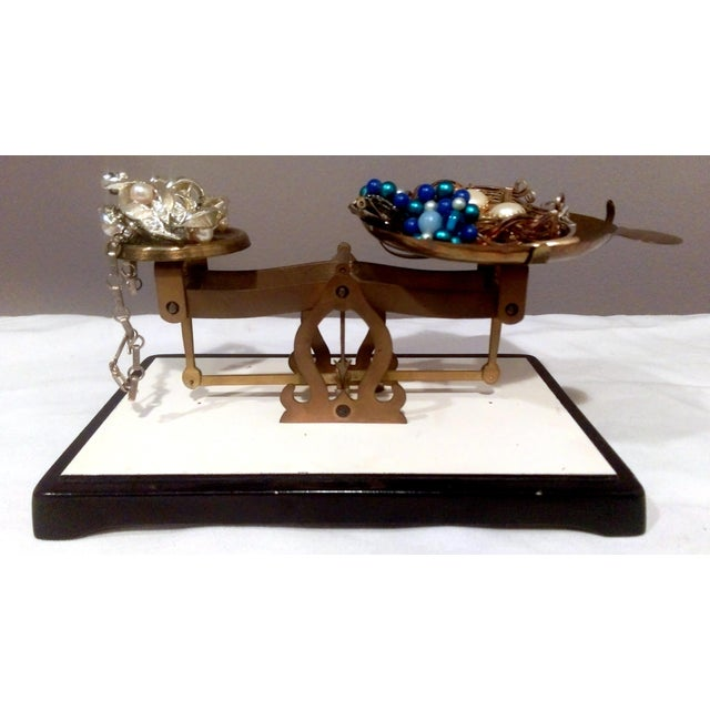 Antique Brass Pharmacy Scale - Image 6 of 9