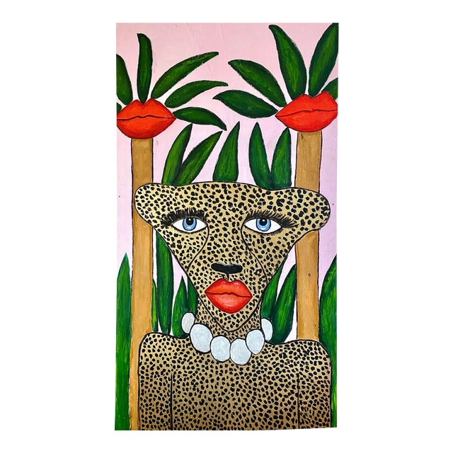 Cheetah in the Jungle Mural For Sale