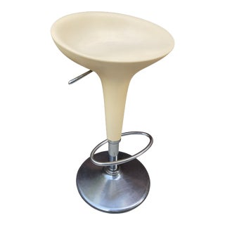 Vintage Magis Bombo Stool Adjustable Height Chair For Sale