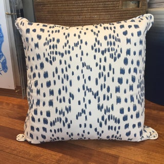 Blue & White Dotted Pillows - A Pair Preview