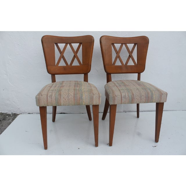 Heywood-Wakefield Dog Bone Chairs - Set of 6 For Sale - Image 7 of 11