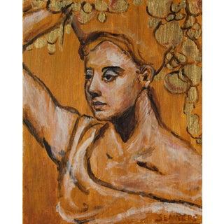 "Sarah Myers ""Bounty"" Original Acrylic on Canvas Painting For Sale"