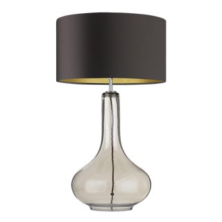 Ariadne Smoked Table Lamp For Sale