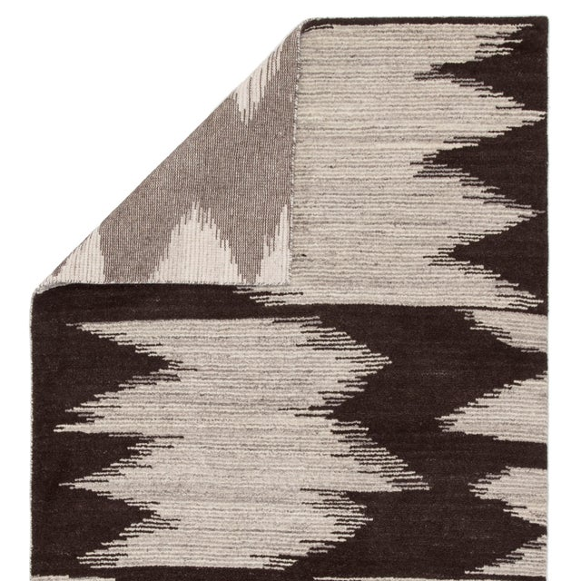 Jaipur Living Ozark Hand-Knotted Geometric Area Rug - 5′ × 8′ For Sale - Image 4 of 6