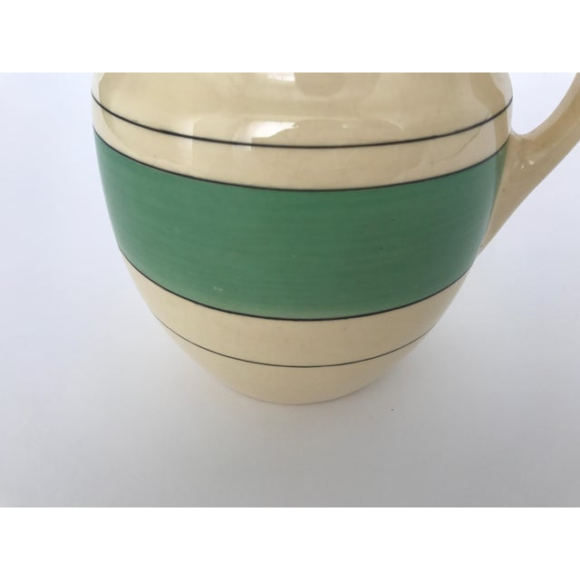 Green & Cream Retro Pitcher - Image 5 of 8
