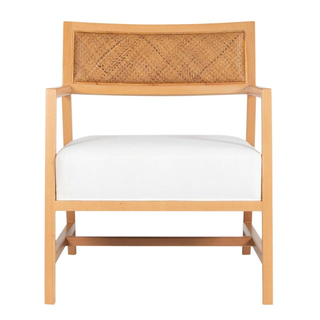 This David Francis lounge chair features a solid Beech Wood frame with eased edges. The seat back is upholstered with...