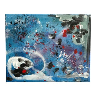Abstract Contemporary Original Acrylic Painting For Sale