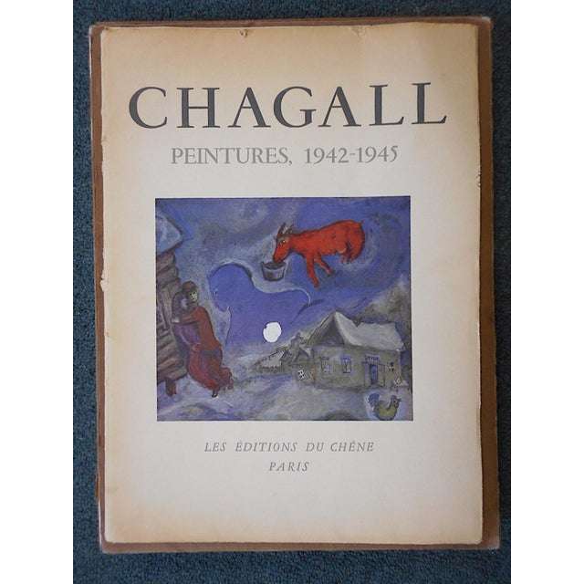 This iconic modernist image by the world famous artist Marc Chagall (Russia/France 1887-1985) is a lithograph (offset)...