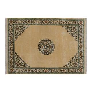 Vintage Japanese Arts and Crafts Design Carpet - 10' X 14' For Sale