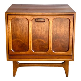 Midcentury Lane Record Cabinet For Sale