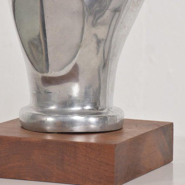 Mid-Century Modern Aluminium Sculpture by Myrna M Nobile, 1969 For Sale - Image 9 of 10