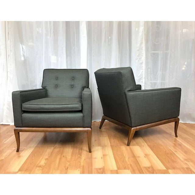 Robsjohn-Gibbings for Widdicomb Lounge Chairs - A Pair - Image 3 of 9