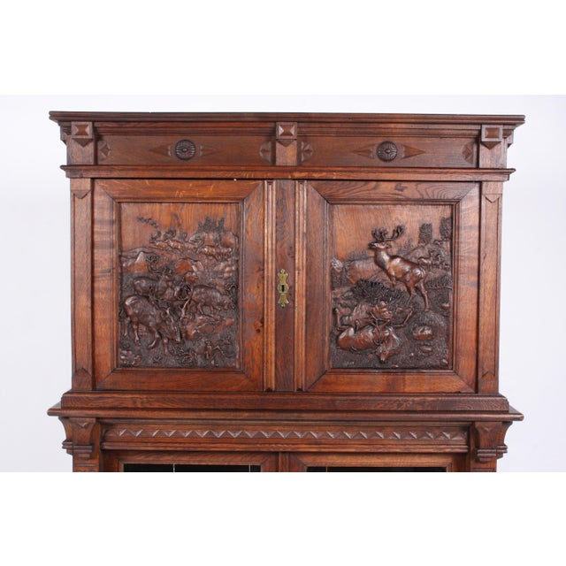 19th-Century Black Forest German Cabinet - Image 3 of 11