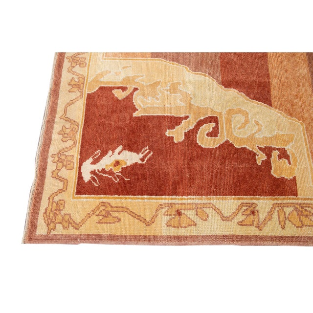 2010s 21st Century Contemporary Kars Wool Rug For Sale - Image 5 of 13
