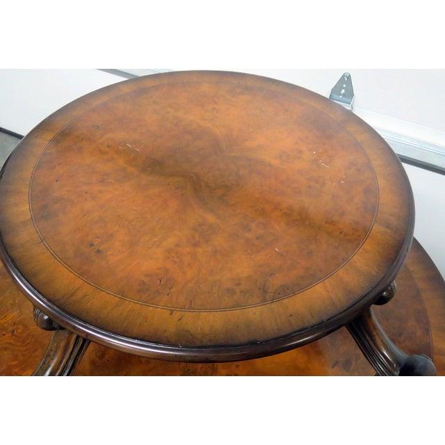 Maitland Smith Regency Style Dessert Table For Sale In Philadelphia - Image 6 of 9